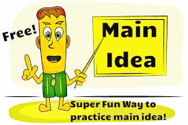 main idea practice main idea interactive game readyteacher com