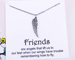 wing jewelry etsy