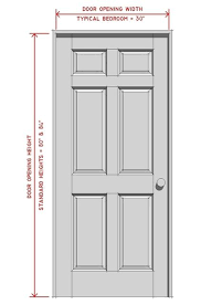 Standard Door Width Interior Interior Door Dimensions Standard Interior Door Sizes Chart
