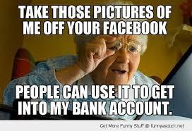 Internet Grandma Meme - funny internet memes internet grandma meme take off you facebook
