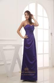 purple sweetheart neckline prom dress long dark purple bridesmaid