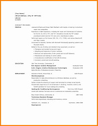 Example Resume For Maintenance Technician 13 Mechanic Sample Resume New Hope Stream Wood