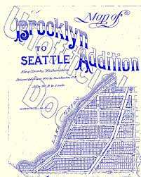 Seattle City Limits Map by Seattle Street Names Wedgwood In Seattle History