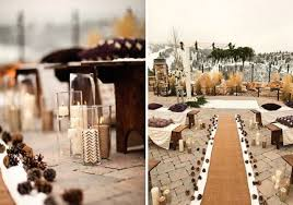 Wedding Aisle Decorations Of Gorgeous Winter Wedding Aisle Decor Ideas 11
