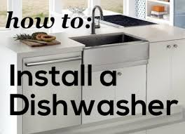 installing a dishwasher in existing cabinets how to install and remove a dishwasher ben franklin plumbing