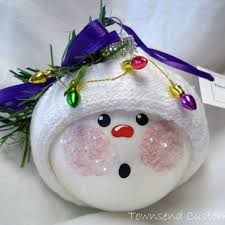 best glass snowman ornaments products on wanelo
