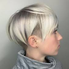 bobbed haircut with shingled npae 50 women s undercut hairstyles to make a real statement blonde