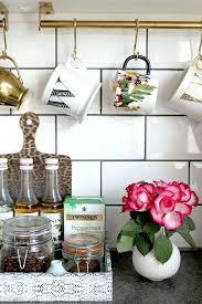 under cabinet coffee mug rack galley kitchen design ideas photos tag kitchen cabinets layout ideas