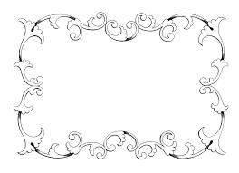 Halloween Border Clip Art by Elegant Border Frame Clipart 58