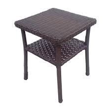 chicago wicker chesapeake stack end table 33310090171 cafe and
