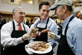 thanksgiving dinner in boston 2014 photos mayor menino through the years wbur