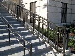 aluminum stair railing southeastern ornamental iron works