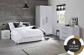 Bedroom Furniture Ranges Bedside Tables  Cabinets DIY At BQ - White bedroom furniture nottingham