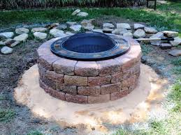 outdoor fire pit ideas gas u2014 jen u0026 joes design simple outdoor