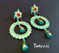 Chandelier Earrings Etsy 47 Best Indian Jewelry Images On Pinterest Indian Jewelry