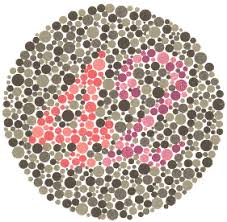 Living With Color Blindness Ishihara Color Test U2013 Color Blindness