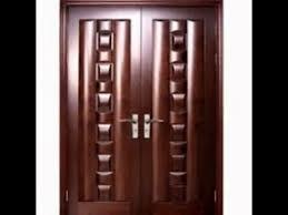Teak Wood Double Doors Design