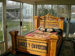 Harley Davidson Decor Harley Davidson Headboard Hd Bedroom Headboard N Footboard So