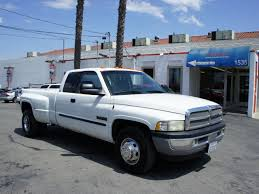 dodge ram 3500 2002 dodge ram 3500 2002 white truck slt diesel 6 cylinders rear