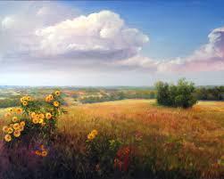 Kansas landscapes images Painting of kansas prairie paintings landscape of kansas by jpg