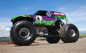 monster jam grave digger rc truck going for a ride in grave digger video motor trend