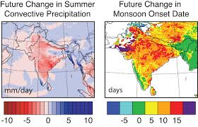 Map Of South Asia by Purdue Study Projects Weakened Monsoon Season In South Asia