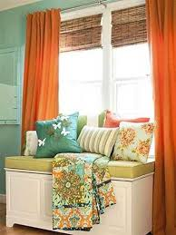 Curtain Color For Orange Walls Inspiration Terracotta Orange Colors And Matching Interior Design Color