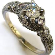 filigree engagement ring diamond filigree engagement ring the jewelers guild