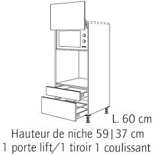 hauteur colonne cuisine hauteur micro onde colonne hauteur prise four et micro onde