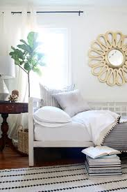 Home Interior Blogs Combine A Guest Bedroom And Home Office In Style How To Decorate