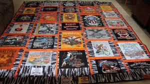 harley davidson carpet meze blog harley davidson t shirt quilt