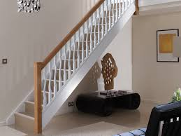 Oak Banisters And Handrails Id Modern Stairparts Staircase Parts