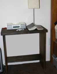 build a simple nightstand blugill urban farm