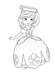 princess sofia book head coloring netart