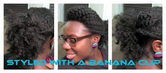 banana clip hair hair tutorial rockin a banana clip kinkycurlycoilyme