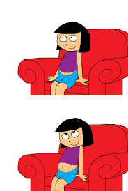 Couch Cartoon Belly Button On Couch By Gussmee On Deviantart