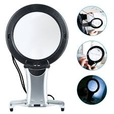 hands free lighted magnifier hands free led loupe lighted reading magnifier neck wear quality