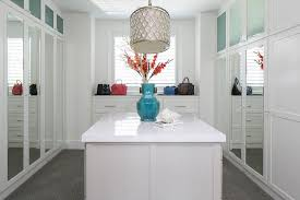 closet doors frosted glass white walk in closet with turquoise blue accents contemporary