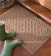 Interior Door Mats Large Cable Weave Waterhog Doormat 35 X 45 Doormats