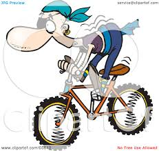 royalty free rf clipart illustration of a pirate guy riding a
