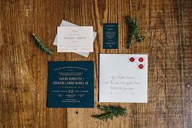 Wedding Invitations Atlanta Modern Industrial Atlanta Wedding Ruffled