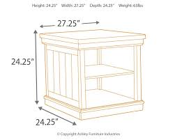 amazon com ashley furniture signature design merihill end table