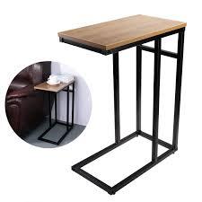Wohnzimmertisch Und Esstisch In Einem Beistelltische Für Wohnzimmer Amazon De