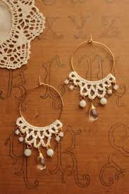 Knitted Chandelier Earrings Pattern Crochet Earrings Gorgeous Must Try Use Embroidery Floss To Get
