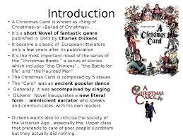 a christmas carol docsity