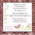gift card bridal shower wording chic butterfly gift card bridal shower invitations modern ideas