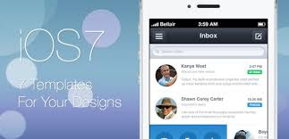 ending soon seven ios 7 templates to bring your app idea to