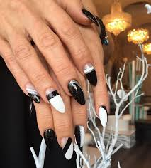 21 black and white nail art designs ideas design trends