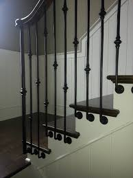 Iron Grill Design For Stairs Metal Baluster Custom Stairs Artistic Stairs