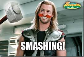 Funny Thor Memes - thor meme a thornado of thorny puns on a thorsday when in manila